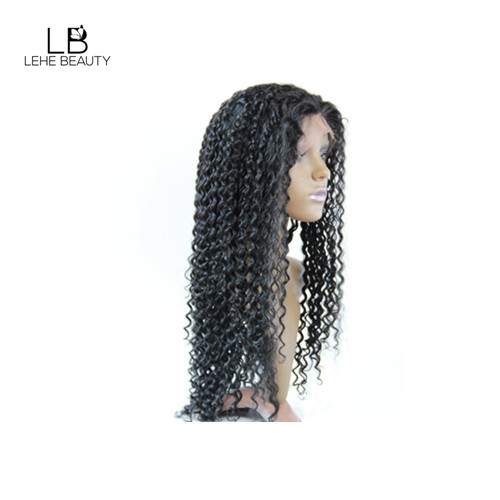 Curly wave full lace wig human hair