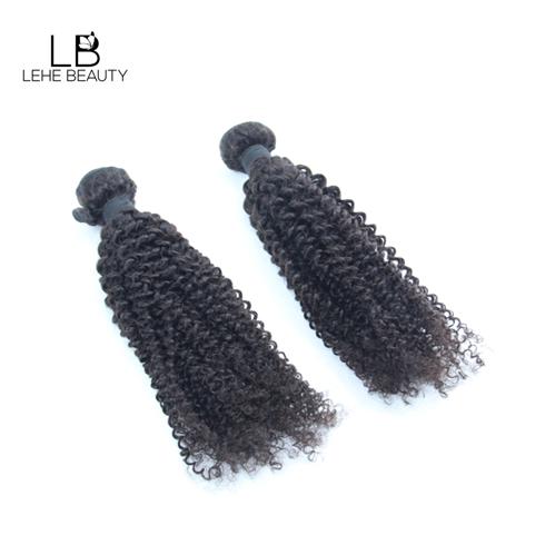 lehe beauty kinky curl human hair