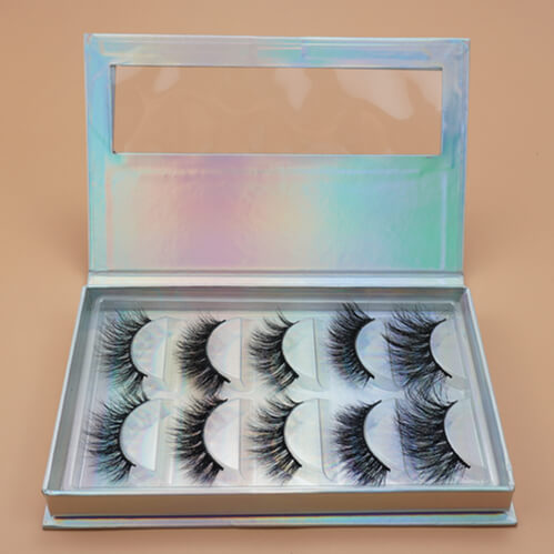 wholesale lash vendors 5 pairs 3D mink lashes with custom lashes packages
