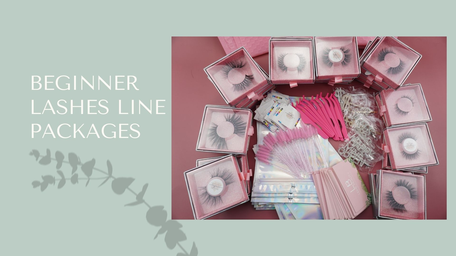 Beginner Lashes Line Packages