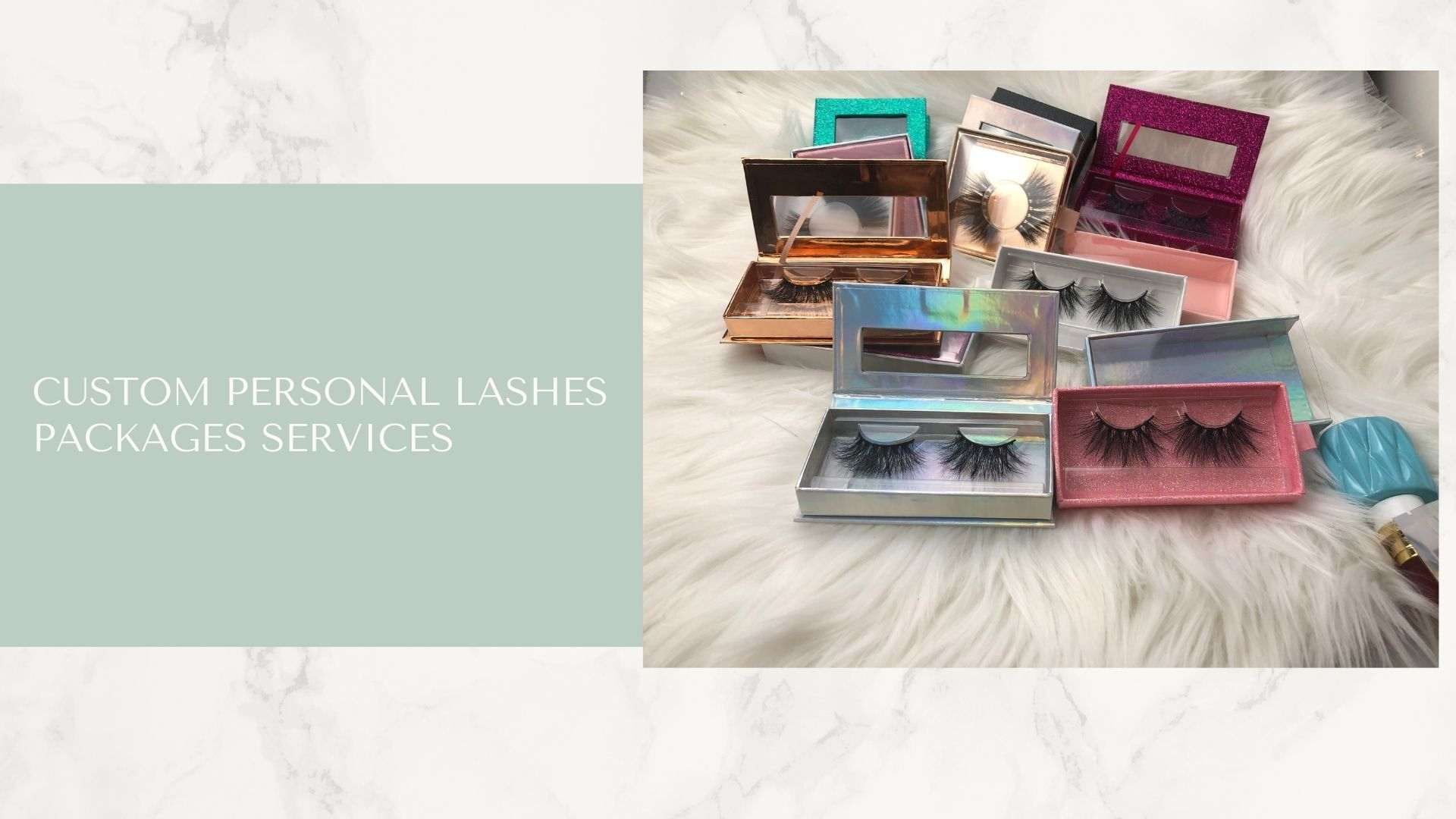Custom Personal Lashes Packages Services