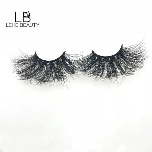 Wholesale mink lashes vendor lehe lashes help you starting your lashes business with 20mm mink