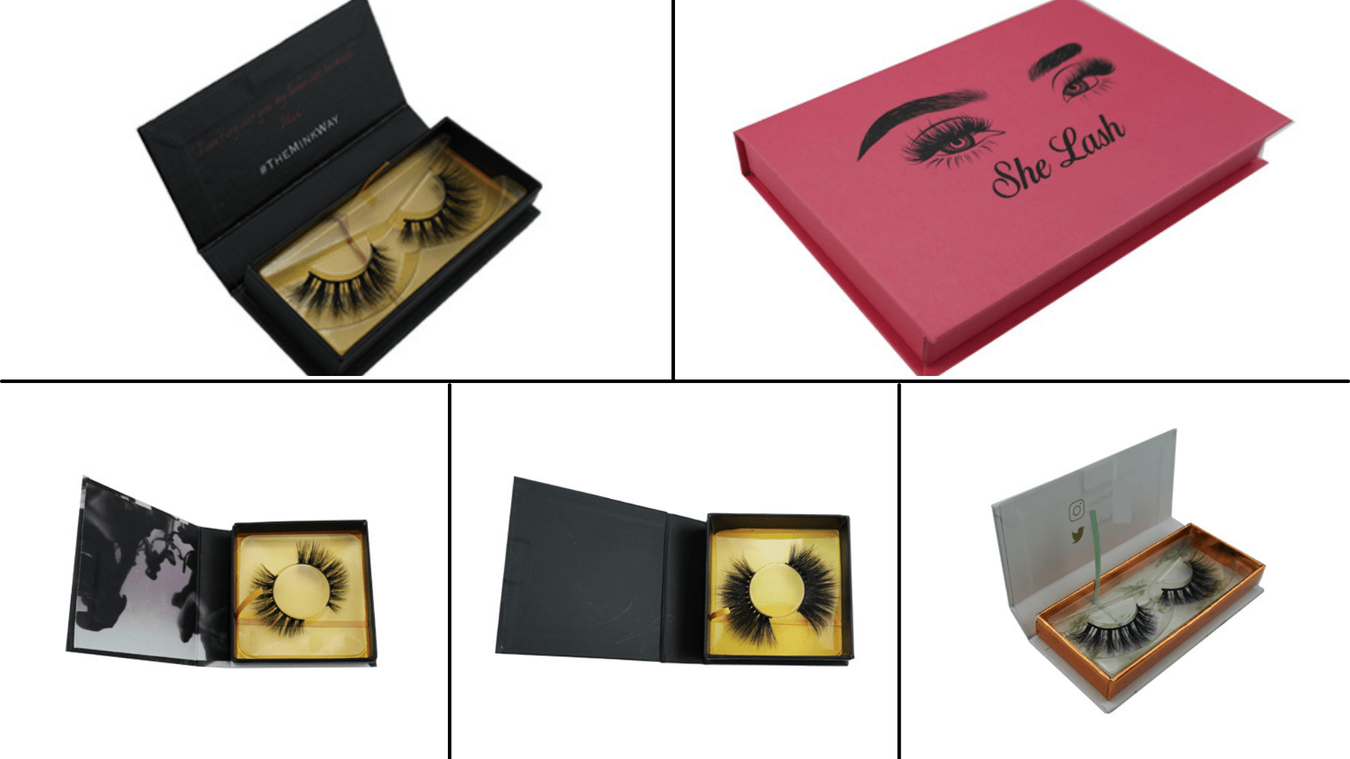 custom lashes packaging
