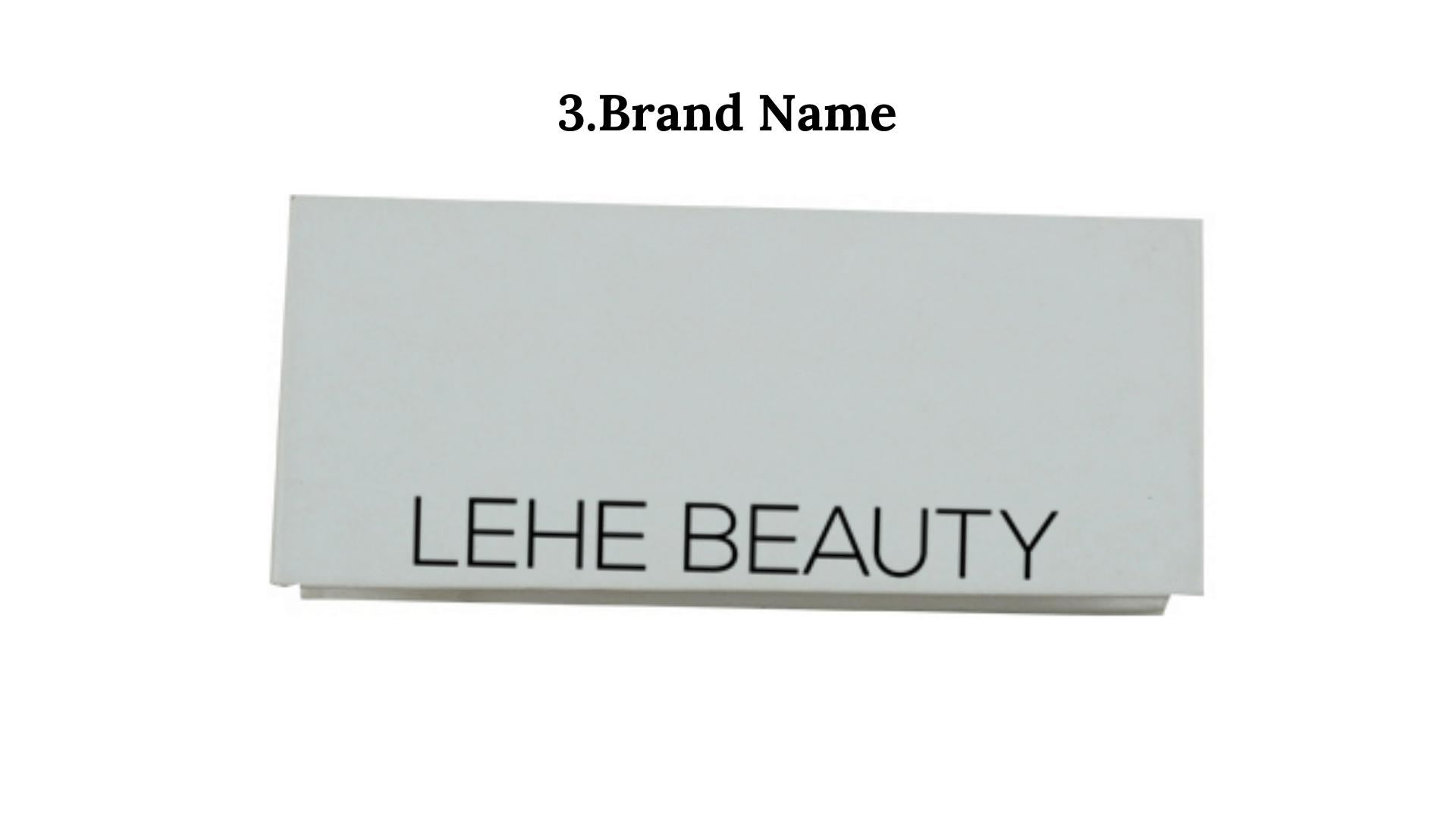lashes brand name