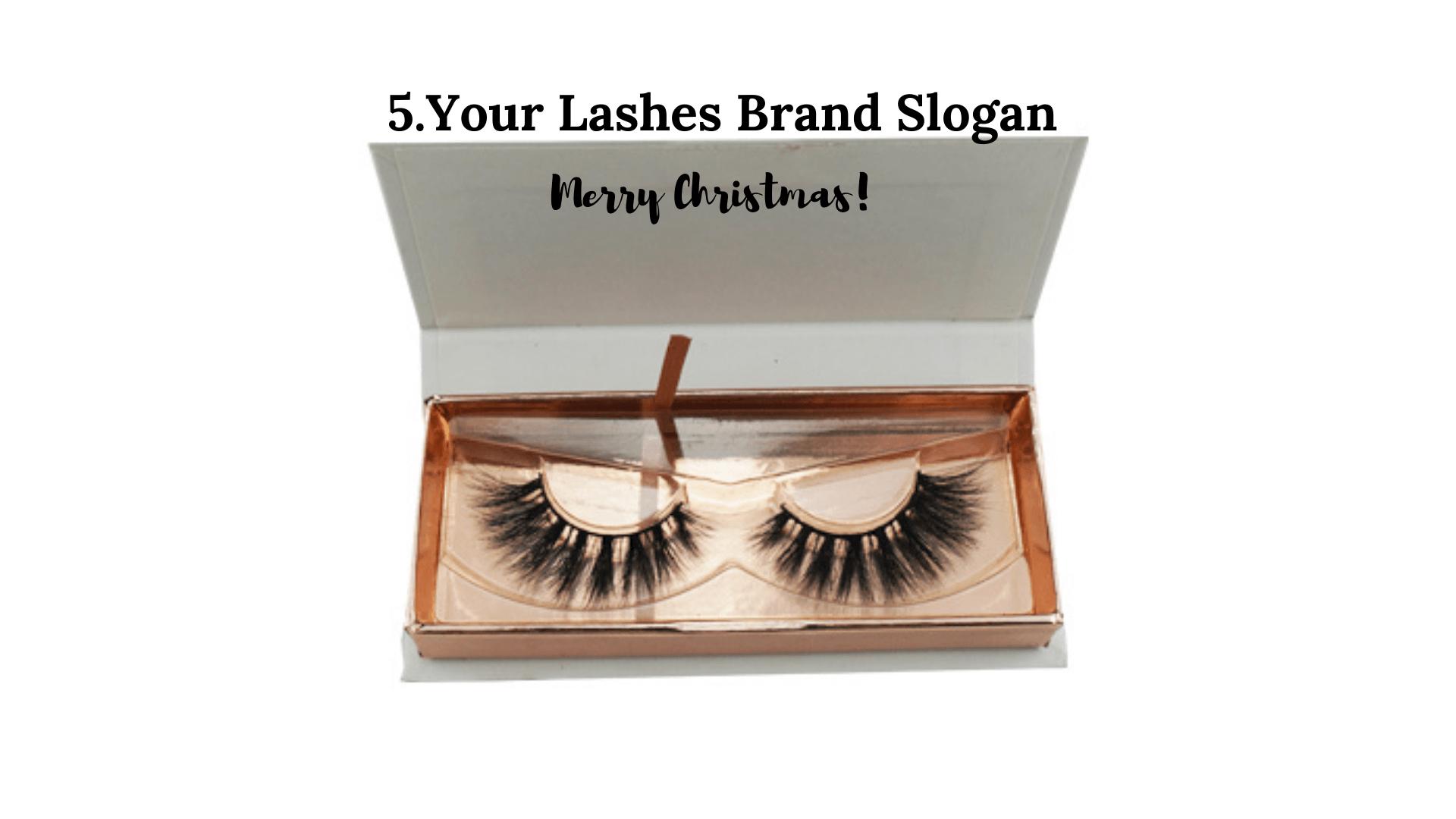 lashes brand slogan