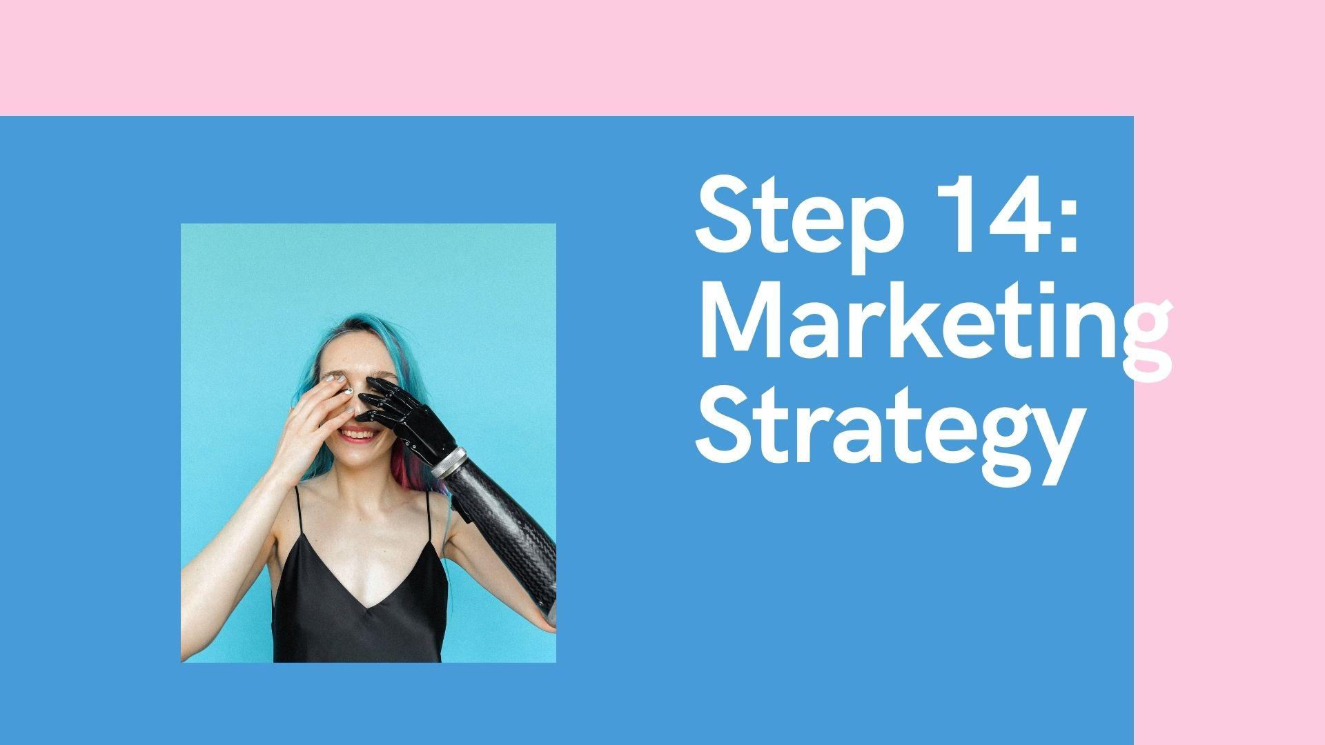 Step 14 Marketing Strategy